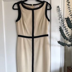 Calvin Klein pencil dress